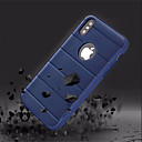 cheap iPhone Cases-Case For Apple iPhone X / iPhone 8 with Stand Back Cover Solid Colored Hard PC for iPhone X / iPhone 8 Plus / iPhone 8