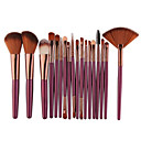 voordelige Make-up & Nagelverzorging-18pcs Make-up kwasten professioneel Brush Sets / Blushkwast / Lippenkwast Nylonkwast Professioneel Kunststof Draagbaar / Universele