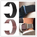 abordables Bracelets Apple Watch-Bracelet de Montre  pour Apple Watch Series 3 / 2 / 1 Apple Bracelet Milanais Acier Inoxydable Sangle de Poignet