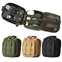 رخيصةأون حقائب و حقائب ظهر-10 L حقيبة الخصر يمكن ارتداؤها في الهواء الطلق المشي لمسافات طويلة تخييم حالة طوارئ نايلون أسود أخضر كاكي