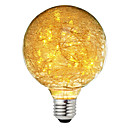 hesapli Bilezikler-BRELONG® 1pc 3W 300lm E26 / E27 LED Küre Ampuller 47 LED Boncuklar Yıldızlı Dekorotif Sıcak Beyaz 220-240V