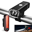 cheap Bike Lights-LED Bike Light Rechargeable Bike Light Set Front Bike Light Rear Bike Tail Light Mountain Bike MTB Cycling Waterproof Portable Li-ion 500 lm Cycling / Bike