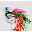 baratos Maquiagem & Produtos para Unhas-1 pcs Iscas Jig Head Chumbo Comum Pesca de Mar / Pesca Voadora / Isco de Arremesso / Pesca no Gelo / Rotação / Pesca de Gancho / Pesca de Água Doce / Pesca de Carpa