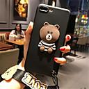hesapli iPhone Kılıfları-Pouzdro Uyumluluk Apple iPhone X / iPhone 7 Plus Temalı Arka Kapak Karton Yumuşak TPU için iPhone X / iPhone 8 Plus / iPhone 8