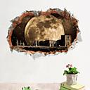 halpa Sisustustarrat-Koriste-seinätarrat - 3D-seinätarrat Maisema Olohuone Makuuhuone Kylpyhuone Keittiö Ruokailuhuone Työhuone / toimisto