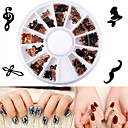 cheap Makeup & Nail Care-1 pcs Nail Jewelry Artistic nail art Manicure Pedicure Casual / Daily Metallic