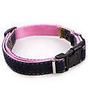 preiswerte Hundespielsachen-Hunde / Katzen Halsbänder Walking / Regolabile / Einziehbar / Traning Solide Stoff Rot / Blau / Rosa