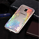 cheap Galaxy J Series Cases / Covers-Case For Samsung Galaxy J7 (2017) / J5(2016) IMD / Pattern Back Cover Lace Printing Soft TPU for J7 (2017) / J7 (2016) / J7