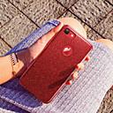 رخيصةأون أساور ساعات Suunto-غطاء من أجل Apple iPhone X / iPhone 8 Plus / iPhone 8 بريق لماع غطاء خلفي بريق لماع ناعم جل السيليكا