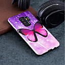 cheap Galaxy S Series Cases / Covers-Case For Samsung Galaxy S9 Plus / S9 Pattern Back Cover Butterfly Hard PC for S9 / S9 Plus / S8 Plus