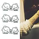 hesapli Makyaj ve Tırnak Bakımı-10 pcs Dövme Etiketleri geçici Dövme Hayvan Serileri body Art kol