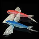hesapli Makyaj ve Tırnak Bakımı-1 pcs Yumuşak Yem Shad Plastikler Deniz Balıkçılığı / Fly Balıkçılık / Olta Yemi / Buzda Balıkçılık / Döner / Jig ile Balıkçılık / Tatlı Su Balıkçılığı / Sazan Balıkçılığı