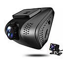 ieftine lanterne-JUEFAN J3 720p / 1080p Vedere nocturnă Car DVR 140 Grade Unghi larg 2 inch Dash Cam cu Detector de Mișcare 4 infraroșu LEDs Car recorder / 2.0