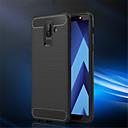 abordables Protections Ecran pour iPhone SE/5s/5c/5-Coque Pour Samsung Galaxy A6+ (2018) / A6 (2018) Relief Coque Couleur Pleine Flexible TPU pour A6 (2018) / A6+ (2018) / A3 (2017)