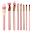 hesapli Makyaj ve Tırnak Bakımı-8pcs Makyaj fırçaları Profesyonel Fırça Setleri Çevre-dostu / Yumuşak Ahşap / Bambu
