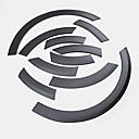 tanie Makijaż i pielęgnacja paznokci-10 szt. Samochód Brwi kół samochodowych Biznes Typ wklejania na Koło samochodowe Na Audi Q5 2010 / 2011 / 2012