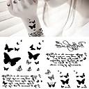 ieftine Machiaj & Îngrijire Unghii-5 pcs Acțibilde de Tatuaj Tatuaje temporare Serie de Animale Arta corpului braț