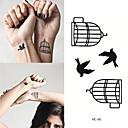 رخيصةأون اكسسوارات الرياضة-10 pcs ملصقات الوشم الوشم المؤقت سلسلة الحيوانات الفنون الجسم ذراع