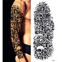 رخيصةأون وشم مؤقت-3 pcs ملصقات الوشم الوشم المؤقت سلسلة الرسوم المتحركة الفنون الجسم ذراع