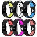 preiswerte Schlüsselanhänger-Uhrenarmband für Fitbit Charge 2 Fitbit Sport Band Silikon Handschlaufe
