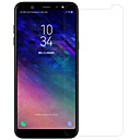 baratos Capinhas para Galaxy Série J-Protetor de Tela para Samsung Galaxy A6+ (2018) Vidro Temperado / PET 1 Pça. Protetor de lentes para frente e câmera Alta Definição (HD) / Dureza 9H / À prova de explosão