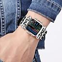 levne iPhone kabely a adaptéry-Pánské Sportovní hodinky Vojenské hodinky Digitální hodinky japonština Digitální Nerez Černá 30 m kreativita Nový design Svítící Digitální Luxus Skládaný - Černá Stříbrná Jeden rok Životnost baterie