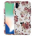 hesapli iPhone Kılıfları-Pouzdro Uyumluluk Apple iPhone X / iPhone 8 Temalı Tam Kaplama Kılıf Çiçek Sert PC için iPhone X / iPhone 8 Plus / iPhone 8