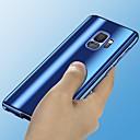 economico Orologi donna-Custodia Per Samsung Galaxy S9 Plus / S9 Placcato / A specchio Integrale Tinta unita Resistente PC per S9 / S9 Plus / S8 Plus