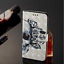 رخيصةأون حافظات / جرابات هواتف جالكسي S-غطاء من أجل Samsung Galaxy A6 (2018) / A6+ (2018) / A8 2018 محفظة / حامل البطاقات / مع حامل غطاء كامل للجسم جماجم قاسي جلد PU