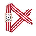 preiswerte Angelköder & Fliegen-REBIRTH Damen Armbanduhr Chinesisch Chronograph / Niedlich / Kreativ Stoff Band Armreif / Elegant Schwarz / Weiß / Rot / Ein Jahr