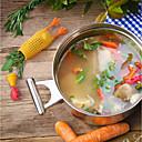 billige Frugt- og grøntsagsredskaber-1pc Køkken Tools Silikone Sej / Multifunktion / Kreativ Køkkengadget Dørslag & Siler