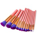 hesapli Makyaj ve Tırnak Bakımı-12pcs Makyaj fırçaları Profesyonel Makkyaj Naylon fiber Tam Kaplama / Rahat Ahşap / Bambu
