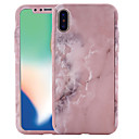 olcso iPhone tokok-Case Kompatibilitás Apple iPhone X / iPhone 8 Minta Héjtok Márvány Kemény PC mert iPhone X / iPhone 8 Plus / iPhone 8