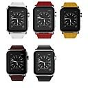 billige Apple Watch urremme-Urrem for Apple Watch Series 4/3/2/1 Apple Læderrem Ægte læder Håndledsrem