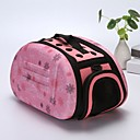 cheap Dog Supplies & Grooming-Dogs / Rabbits / Cats Cages / Carrier & Travel Backpack / Shoulder Bag Pet Carrier Portable / Mini / Camping & Hiking Geometric / Fashion / Lolita Gray / Pink / Black