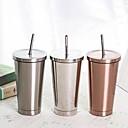 ieftine Căni-Drinkware Căni de Cafea Oțel inoxidabil Reținerea de căldură / cadou iubit / cadou prietena Casul / Zilnic