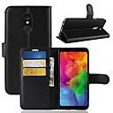 رخيصةأون LG أغطية / كفرات-غطاء من أجل LG LG X venture / LG V30 / LG V20 MINI محفظة / حامل البطاقات / قلب غطاء كامل للجسم لون سادة قاسي جلد PU / LG G6