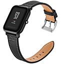 رخيصةأون ساعات الرجال-حزام إلى Huami Amazfit Bip Younth Watch Xiaomi بكلة عصرية جلد طبيعي شريط المعصم
