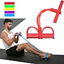 hesapli Nintendo 3DS Aksesuarları-Direnç Bandı / Egzersiz Tüpü İle 1 pcs EVA Antreman Fizik Tedavi, Direnç Eğitimi İçin Fitness / Egzersiz yapmak Spor ve Outdoor