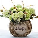 preiswerte Künstliche Blumen-Künstliche Blumen 1 Ast Klassisch Einzelbett(150 x 200 cm) Rustikal Lila Tisch-Blumen