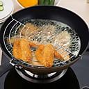 זול כלי בישול וגאדג'טים למטבח-מתכת אל חלד כלים Heatproof כלי מטבח כלי מטבח שימוש יומיומי עבור כלי בישול 1pc