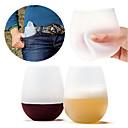 hesapli Bardaklar-drinkware Tam Vücut Silikon Günlük Bardaklar / Yenilikçi Bardaklar / Çay Fincanları Taşınabilir / sıkma / Boyfriend Hediye 1 pcs
