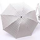 billige Regntøy-polyester / Rustfritt stål Alle Sol & Regn Sammenfoldet paraply