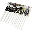 hesapli Makyaj ve Tırnak Bakımı-12pcs Makyaj fırçaları Profesyonel Fırça Setleri Çevre-dostu / Yumuşak Ahşap / Bambu