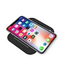 billige Mode Halskæde-10w folding qi mobiltelefon trådløs opladning hurtig oplader til iphone xs iphone xr xsmax iphone 8 samsung s9 plus s8 note 9 eller indbygget qi modtager smart telefon