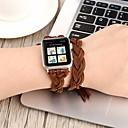 voordelige Apple Watch-hoesjes-Horlogeband voor Apple Watch Series 3 / 2 / 1 Apple Leren lus Echt leer Polsband