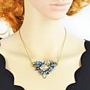 hesapli Kolyeler-Kadın's Kristal Avize Uçlu Kolyeler - Basit, Moda Altın 49.1 cm Kolyeler Mücevher 1pc Uyumluluk Parti / Gece, Okul