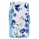 cheap iPhone Cases-Case For Apple iPhone 6 / iPhone 6s Wallet / Card Holder / Flip Full Body Cases Flower Hard PU Leather for iPhone 6s / iPhone 6