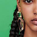 preiswerte LED Doppel-Pin Leuchten-Damen Tropfen-Ohrringe - Europäisch, Modisch, Steampunk Rosa / Hellblau / Hellbraun Für Alltag Schultaschen