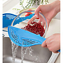 cheap Kitchen Utensils & Gadgets-Whale Pot Strainer Rice Fruit Vegetable Wash Colanders Kitchen Gadgets